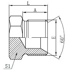 Hydraulic Plugs Drawing