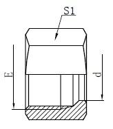 Hydraulic Retaining Nuts Drawing
