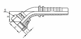 R1AT ประกอบท่อไฮโดรลิค