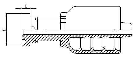Stainless Steel Hydraulic Fittings Drawing