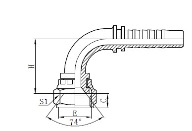 Two Wire Braided Hose Assembly